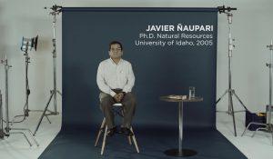 Fulbright Perú 60 años: Javier Ñaupari